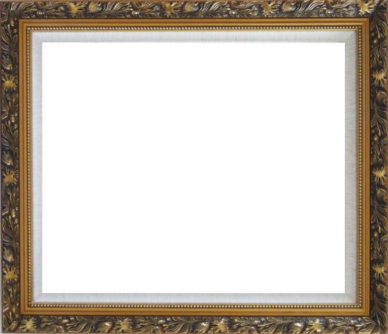Ornate Antique Gold Wood Frame    20 x 24 inches
