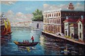 Romance of Venice Oil Painting  24 x 36 inches