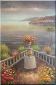 Mediterranean Memories  Oil Painting  36 x 24 inches