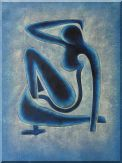 Blue Nude, Matisse Modern Oil Painting Oil Painting  48 x 36 inches