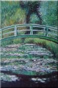 Water Lilies and Willow, Monet Oil Painting  36 x 24 inches