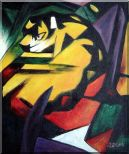 Tiger,   Franz Marc  Reproduction Oil Painting  24 x 20 inches