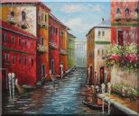 Italian Love Story at Venice Oil Painting  20 x 24 inches