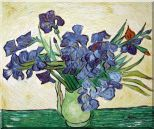 Irises, Van Gogh Masterpieces Reproduction Oil Painting  20 x 24 inches