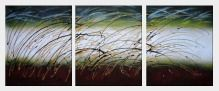 Ripples - 3 Canvas Set  24 x 60 inches