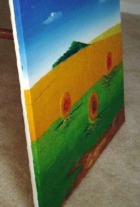 Professional Canvas Stretching Service for Size 16x24in or18x20in Oil Paintings