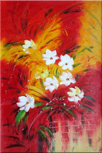 The Best Time of The Life Oil Painting Flower Modern 36 x 24 Inches