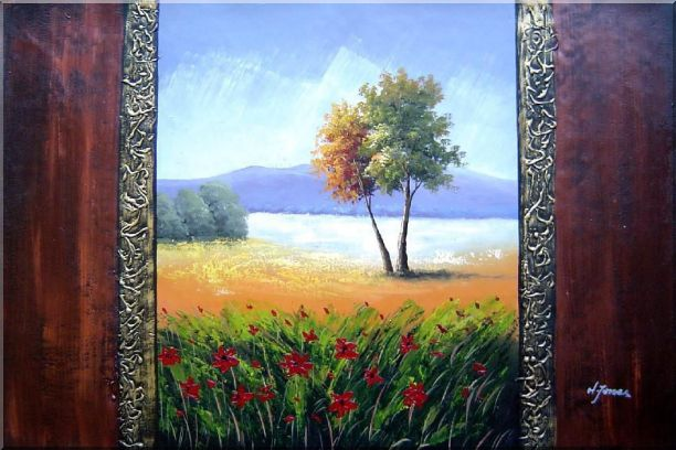 The Beauty of the Homeland Oil Painting Landscape Impressionism 24 x 36 Inches