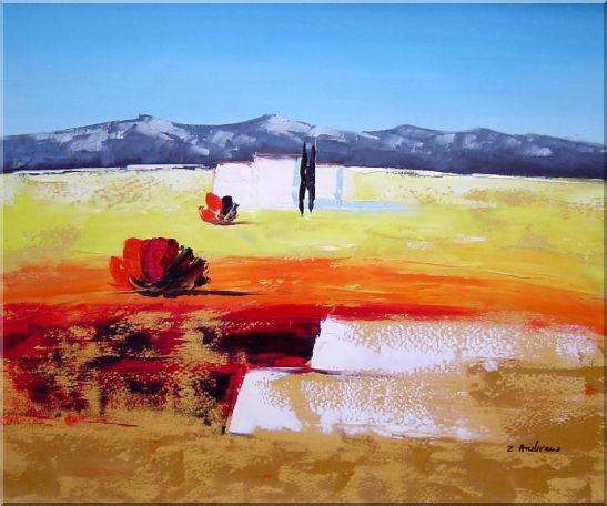 Modern Landscape Oil Painting 20 x 24 Inches
