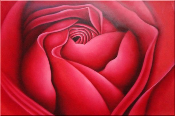 The Beauty of Life Oil Painting Flower Rose Decorative 24 x 36 Inches