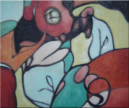 Cheap Modern Cubism Oil Painting Nonobjective 20 x 24 Inches