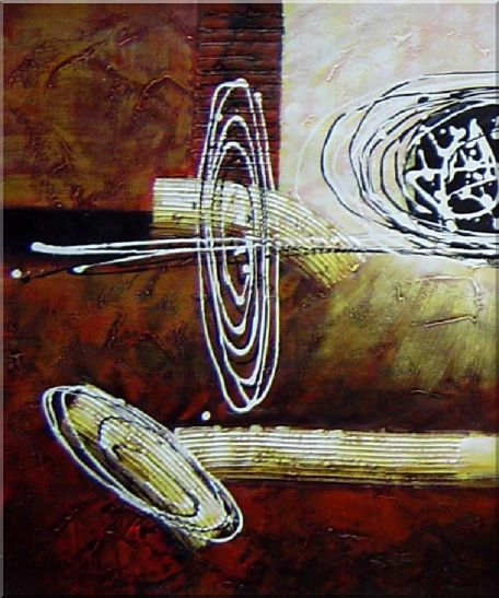 Decorative Splitted Paintings - 3 Canvas Set 3-canvas-set,nonobjective decorative  24 x 60 inches