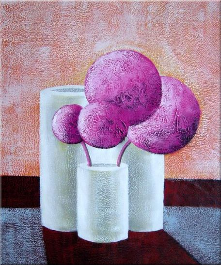 Still Life Geometric Objects of Balls and Cylinders  - 3 Canvas Set 3-canvas-set,still-life decorative  24 x 60 inches