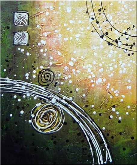 A Joyful Song - 3 Canvas Set 3-canvas-set,nonobjective decorative  24 x 60 inches