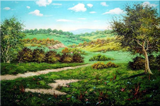 Spring Landscape Oil Painting Classic 24 x 36 Inches