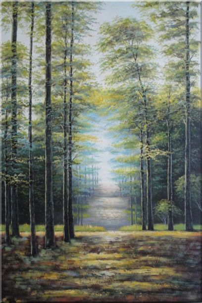 In Tranquil Forest - 2 Canvas Set 2-canvas-set,landscape,tree classic  36 x 48 inches