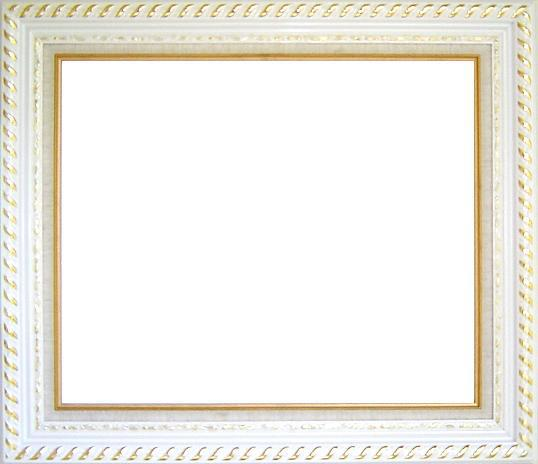 White Wood Gesso Frame with Linen Liner    20 x 24 inches