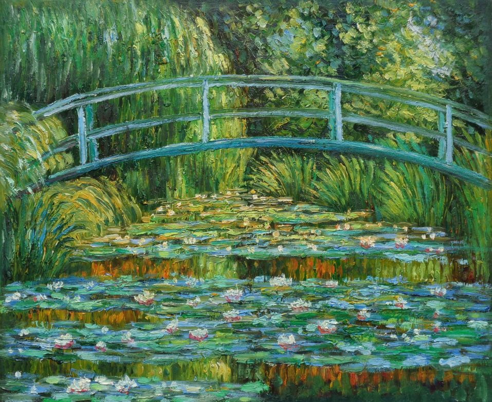 How To Paint Like Monet Water Lilies