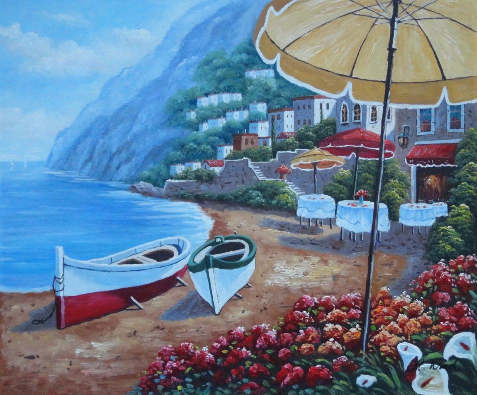Boats Beachside Restaurant And Mountainside Red Roof
