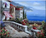 Mediterranean Vistas Oil Painting Naturalism 20 x 24 inches