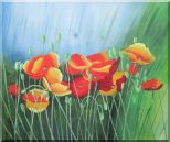 Meadow Dance Oil Painting Flower Modern 20 x 24 inches