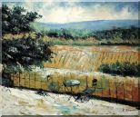 Lovely Rural Retreat Oil Painting Landscape Impressionism 20 x 24 inches