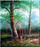 Tree Study Oil Painting Landscape Naturalism 24 x 20 inches