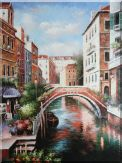 Memories of Venice in Italy Oil Painting Naturalism 48 x 36 inches