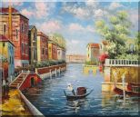 Summer in Venice Oil Painting Italy Impressionism 20 x 24 inches