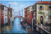 The Afternoon of Venice Oil Painting Italy Naturalism 24 x 36 inches