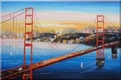 Golden Gate Bridge, San Francisco Oil Painting
