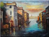 The Beauty, the Quiescence and the Romantics of Venice Oil Painting Italy Naturalism 36 x 48 inches