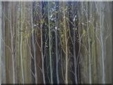 Tree Branches in Modern Background Oil Painting Landscape Decorative 30 x 40 inches
