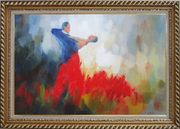 Love Melody Oil Painting Portraits Couple Impressionism Exquisite Gold Wood Frame 30 x 42 inches
